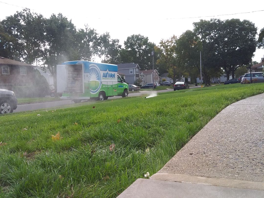 Springfield Township, NJ - Winterization of irrigation system