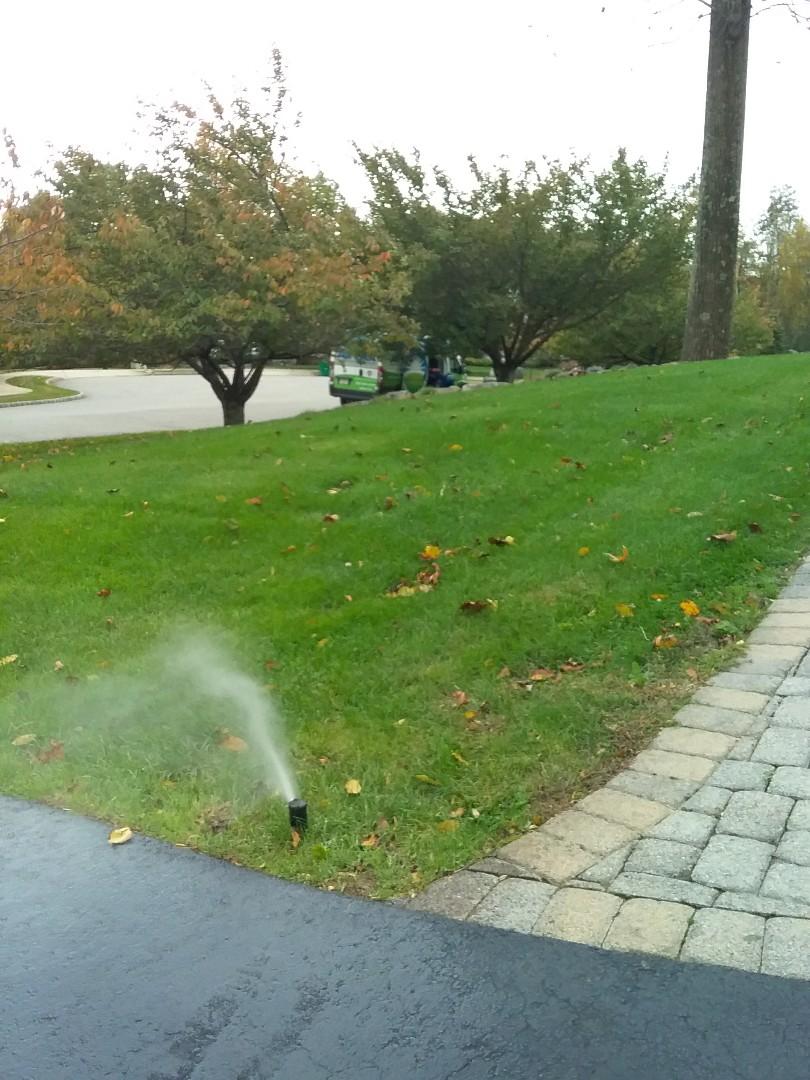 Winterization of sprinkler system