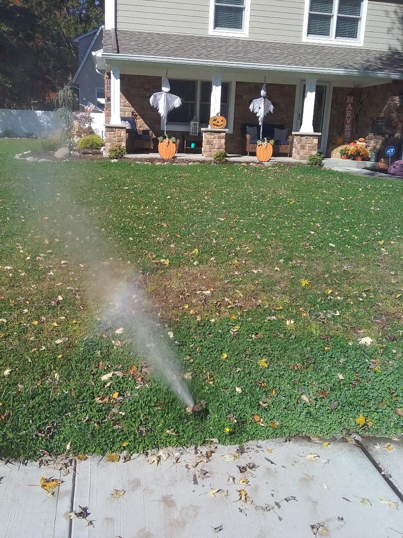 West Caldwell, NJ - Winterize system, Blow out, drain out, IRRIGATION SPRINKLERS!! In west caldwell Broken sprinklers, leaking sprinkler head. There is still time!! Ask about our Silver and Gold savings bundles. Call us now!! Dont miss out.