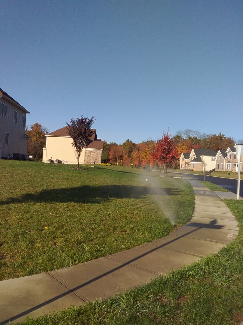 Winterize system, Blow out, drain out, IRRIGATION SPRINKLERS!! In flemington Nj 08822 Broken sprinklers, leaking sprinkler head. There is still time!! Ask about our Silver and Gold savings bundles.  Call us now!! Dont miss out.