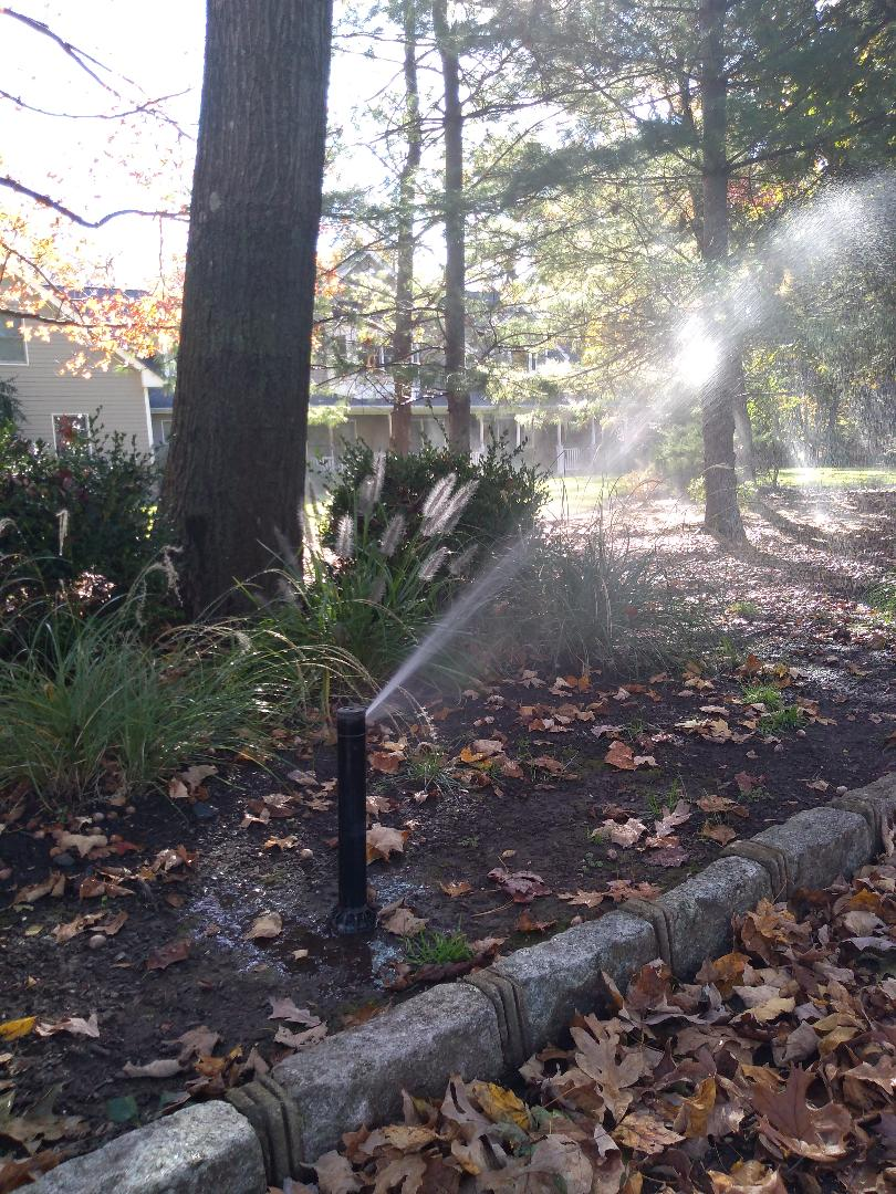 Winterize sprinkler irrigation system. In Watchung NJ 07069