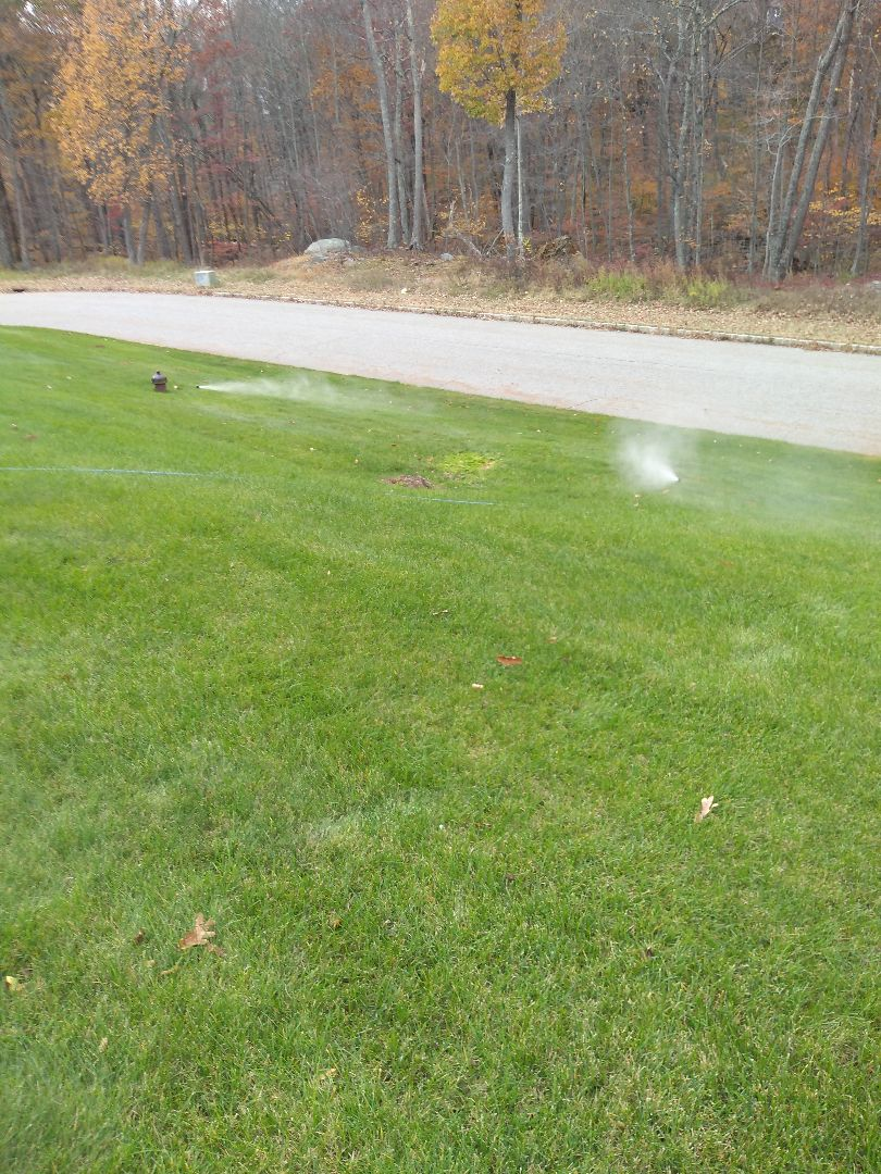 Winterize your Spirnkler irrigation system in kinnelon nj