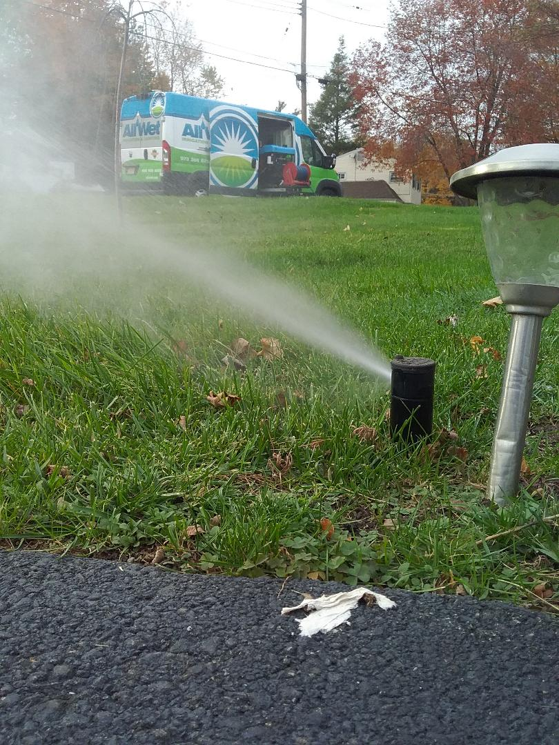 Winterizing irrigation systems call now