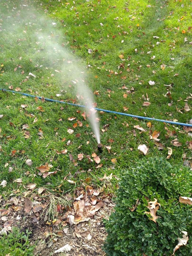 Roseland, NJ - Winterize your irrigation sprinkler system in Roseland NJ