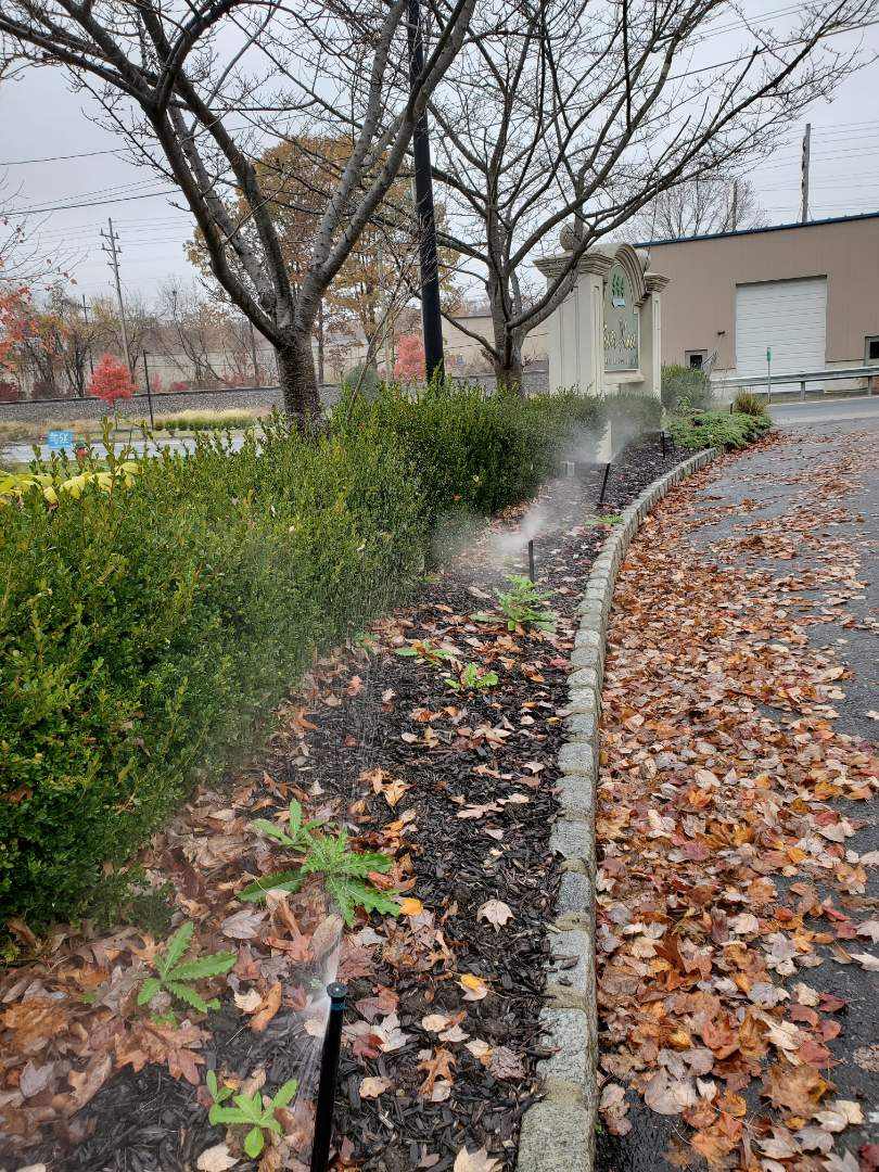Winterize irrigation system at Rental Community