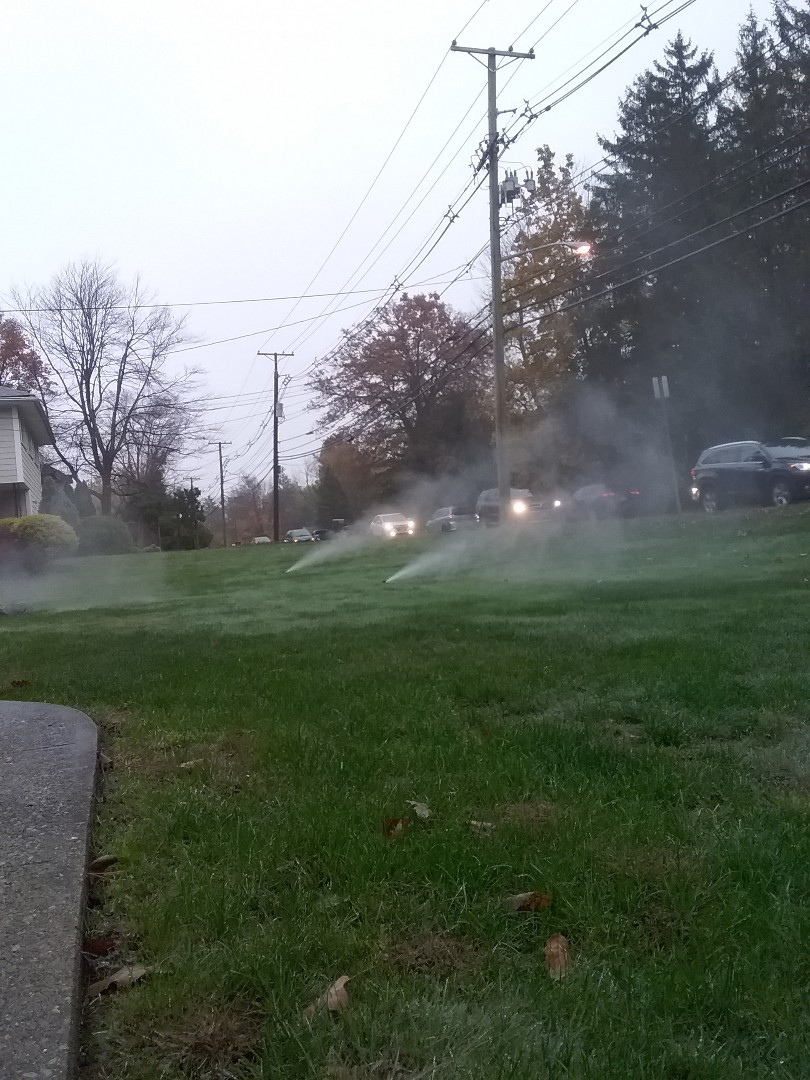 West Caldwell, NJ - Winterization of irrigation system