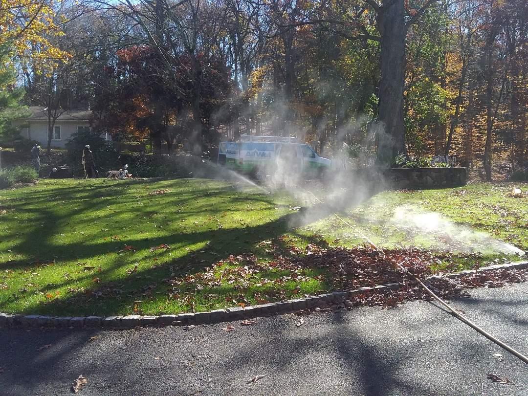 Winterizing sprinklers