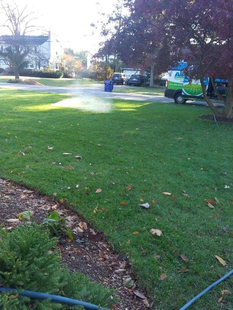 Morristown, NJ - Winterize sprinkler system and fertilization
