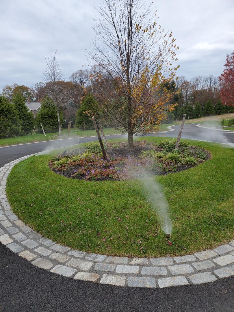 Harding Township, NJ - Winterize irrigation system