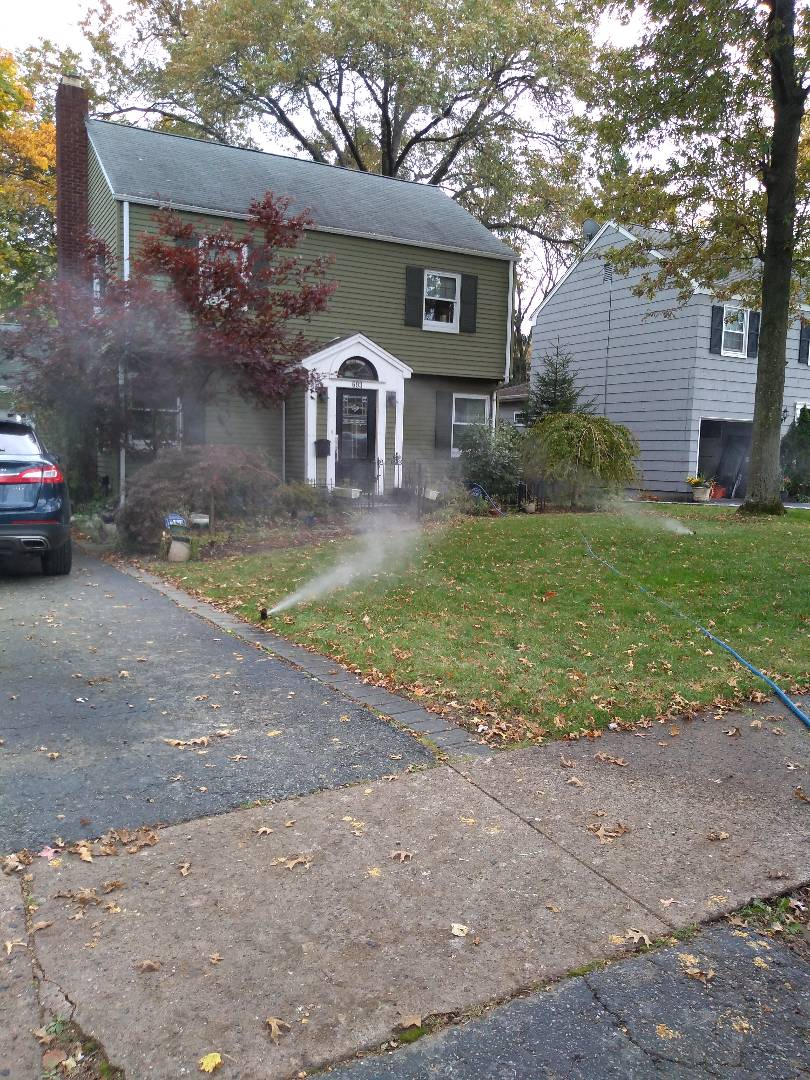 Winterize your sprinkler irrigation system.Drain out. Blow out. Montclair Nj