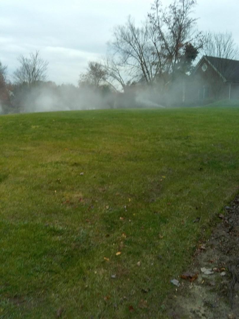 Sprinkler system shut down  Irrigation winterization