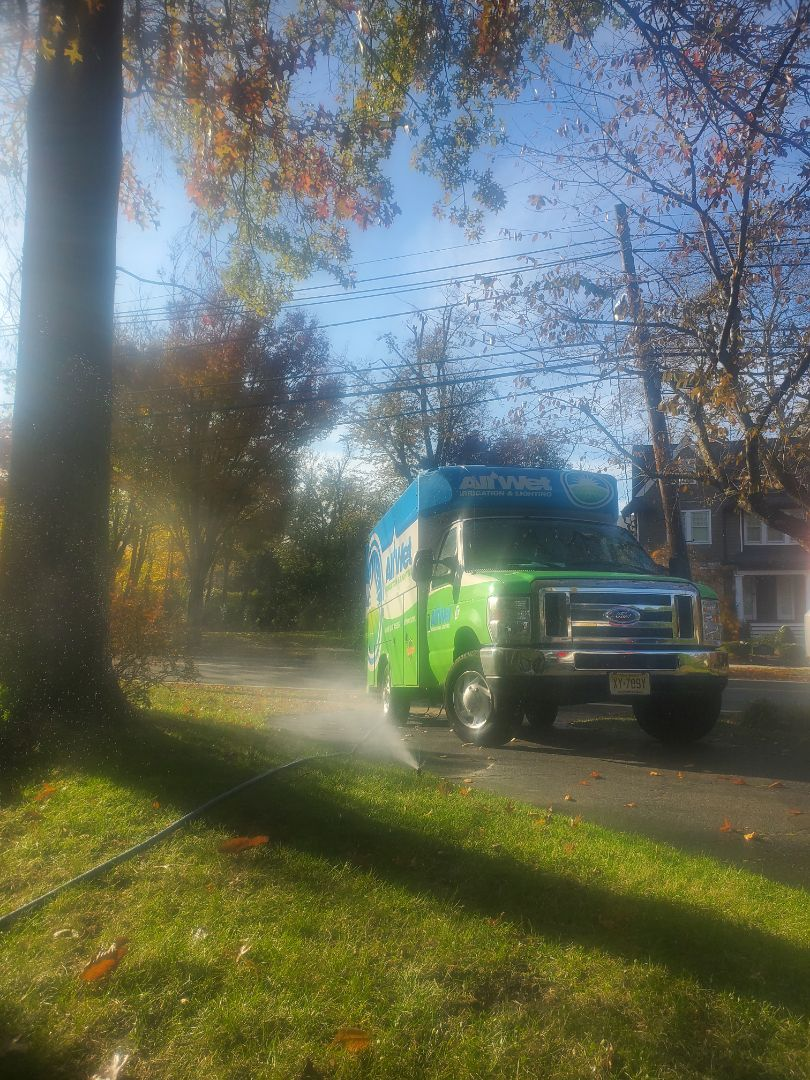 Madison, NJ - Winterization of irrigation system