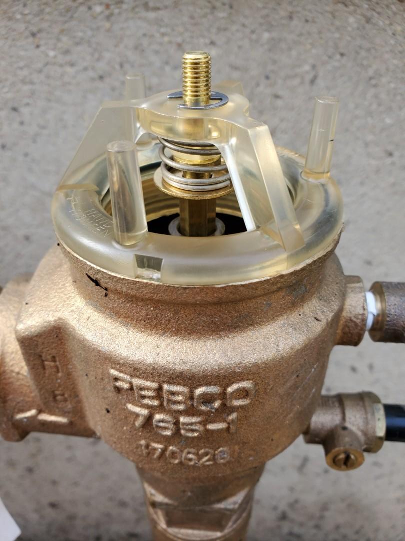 Madison, NJ - Repair broken backflow internals and winterize the sprinkler system