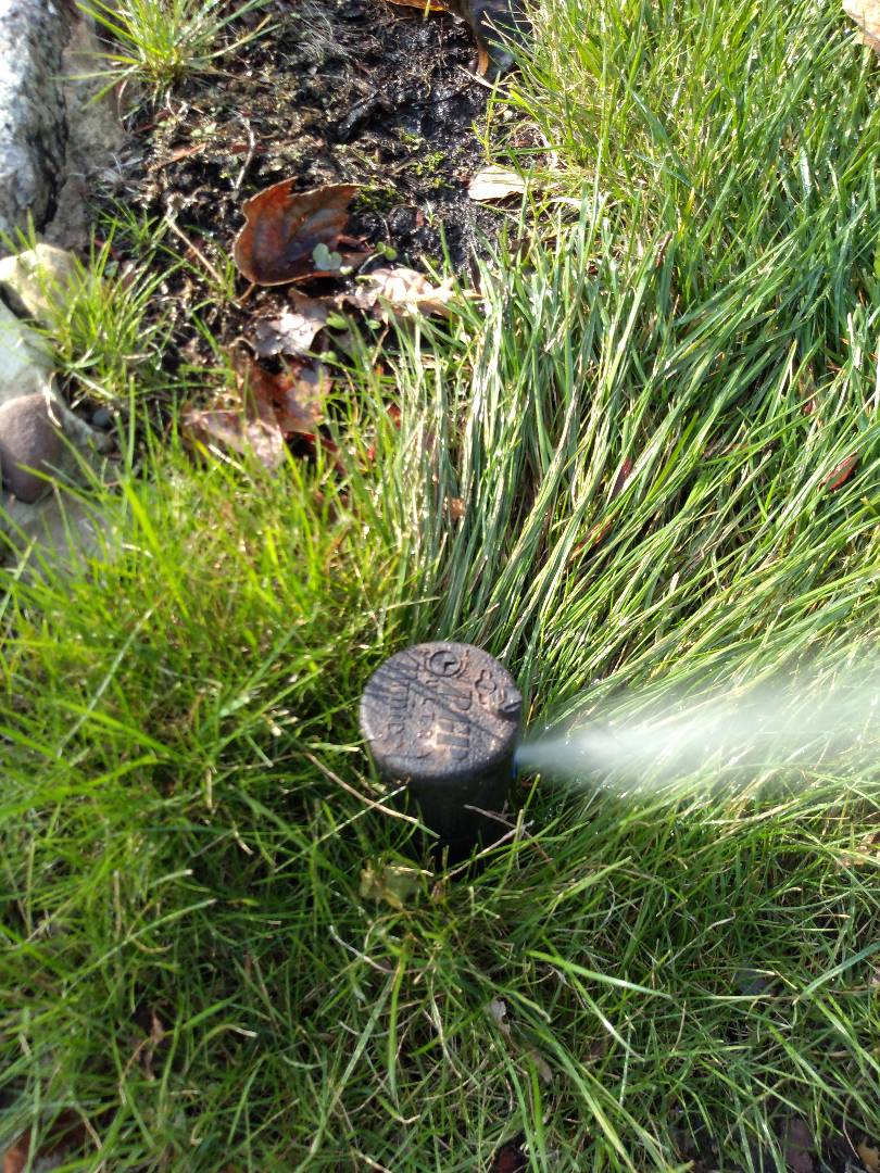 Winterize your sprinkler irrigation system. Blow out . Drain out. Boonton NJ