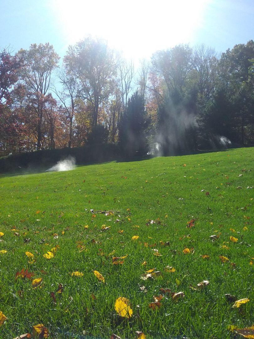 Sprinklers winterization
