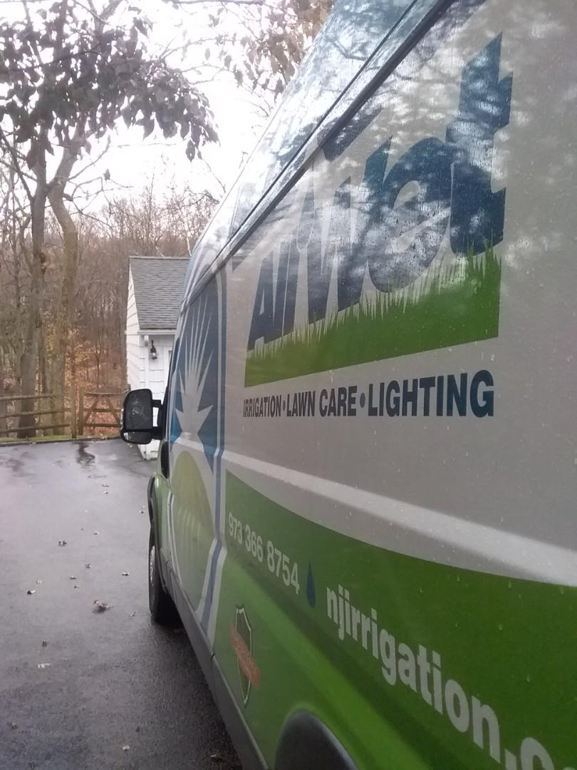 Livingston, NJ - Winterization sprinkler