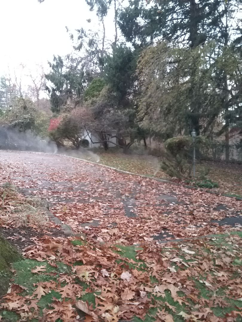 Winterization of irrigation system