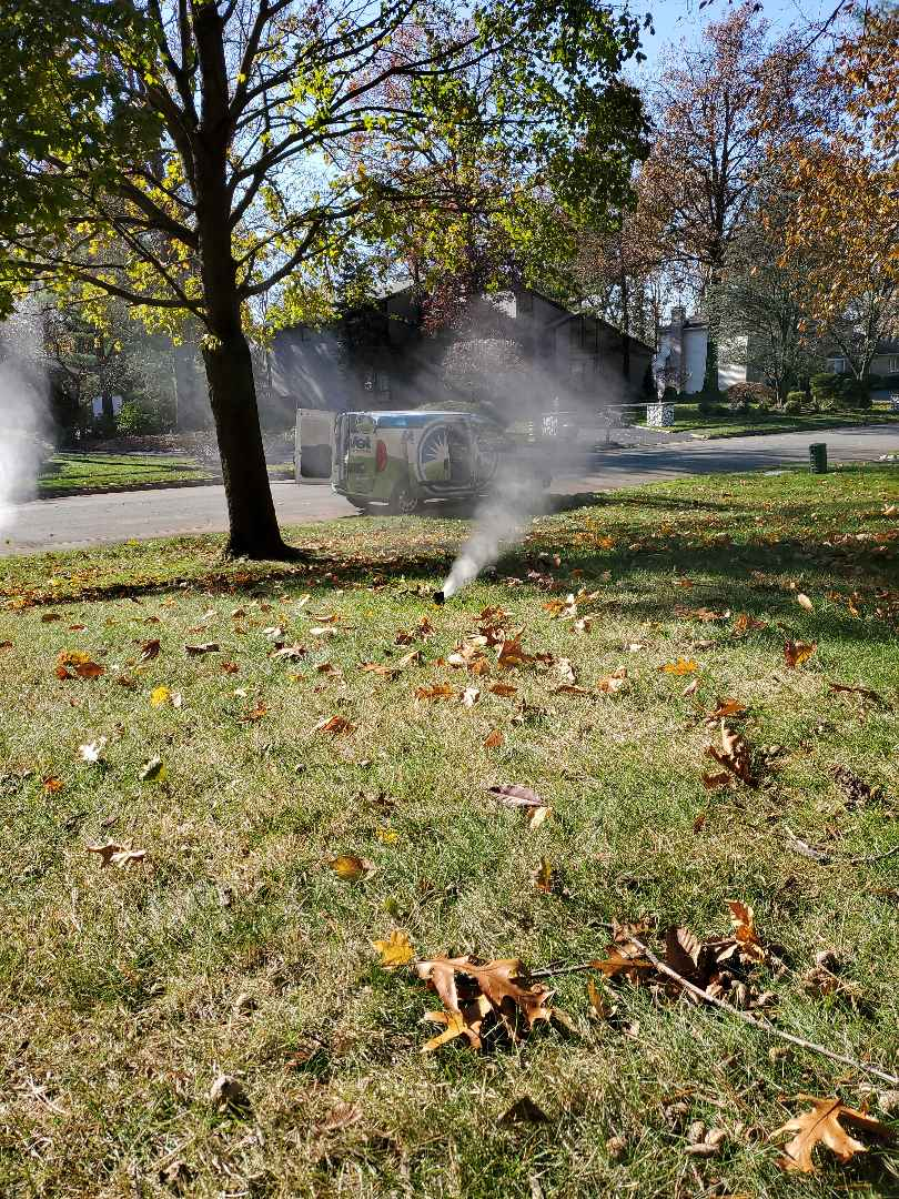 Livingston, NJ - Preparing for the Winter I'm evacuating a rain bird sprinkler system before the freeze sets in