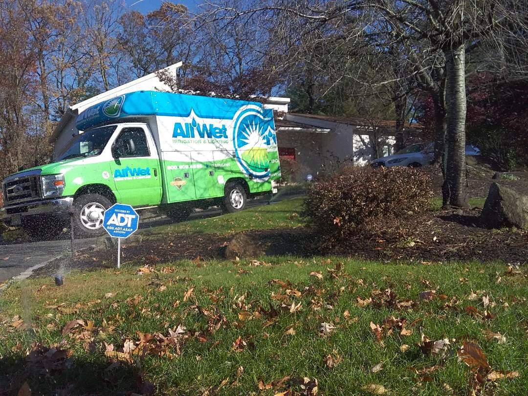 Livingston, NJ - Winterization of irrigation system