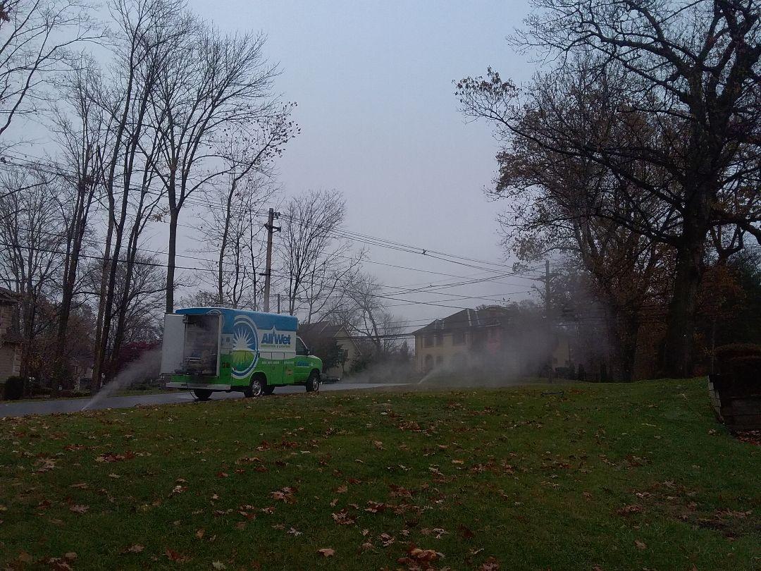 Caldwell, NJ - Winterization of irrigation system