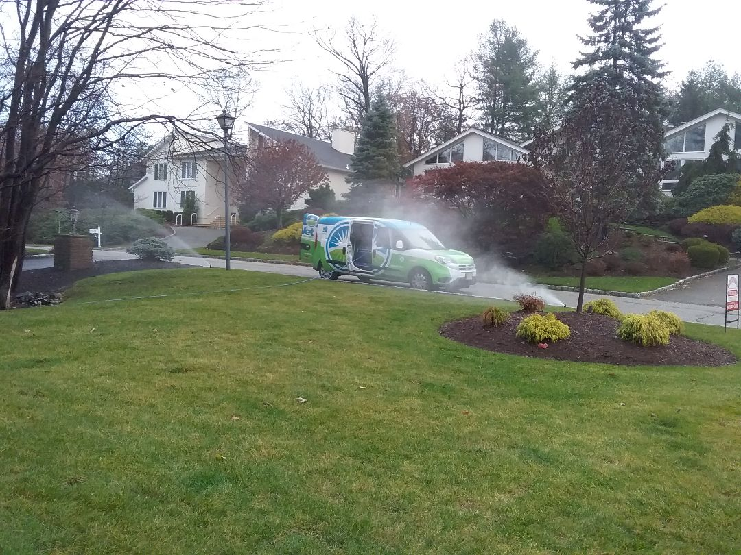 Cedar Grove, NJ - Winterizing irrigation system, water and clock are off