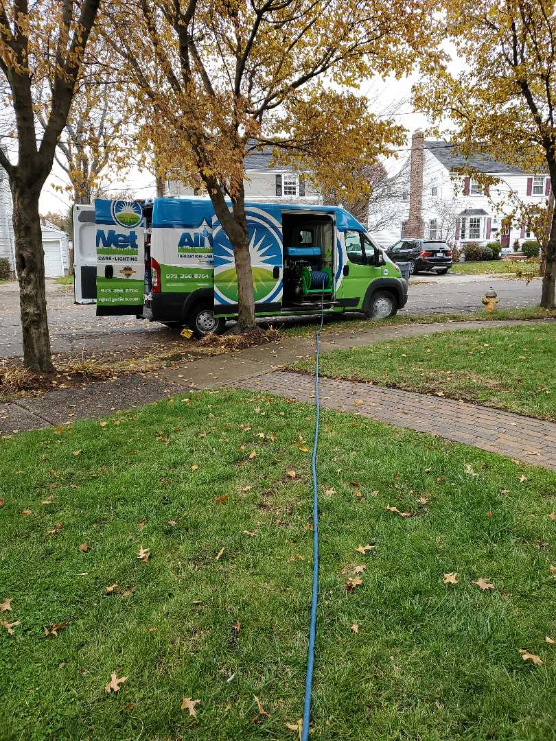 Winterizing a rain bird sprinkler system