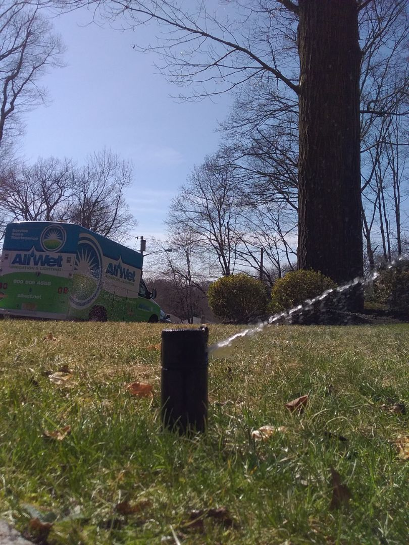 Caldwell, NJ - Start up irrigation system