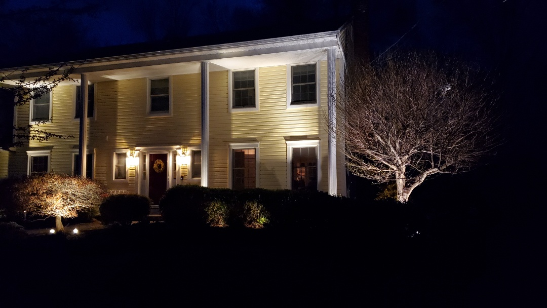 Morristown, NJ - Check low voltage lighting system