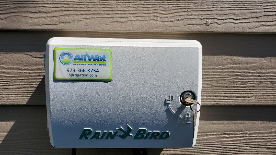 Start up irrigation system and set timer up for spring conditions when ready to water