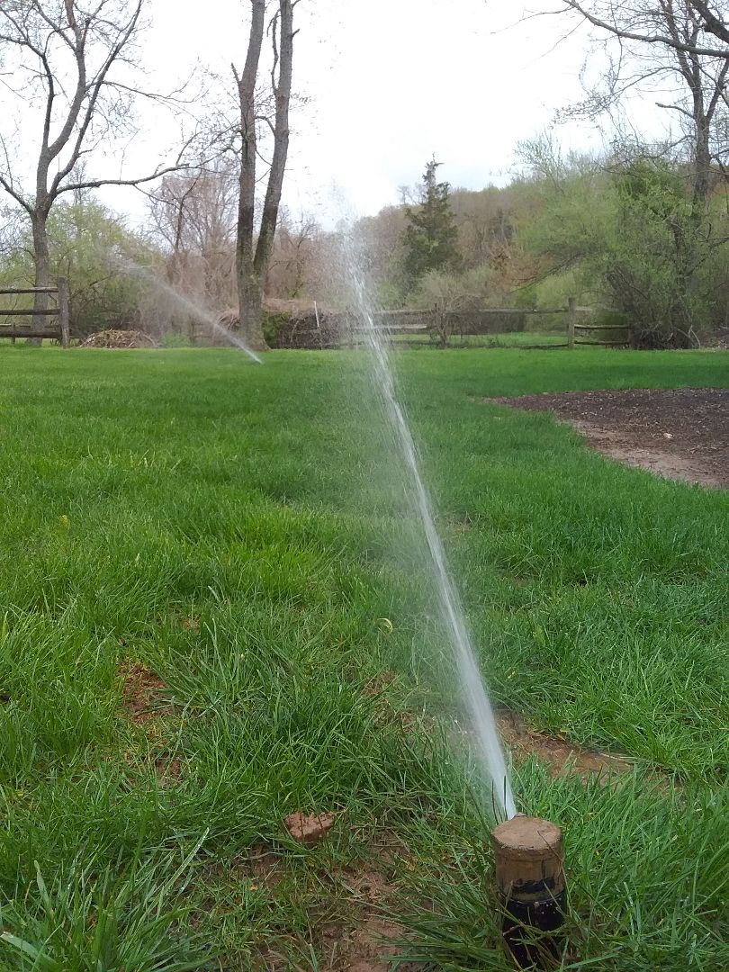 Gladstone, NJ - Repaired irrigation system