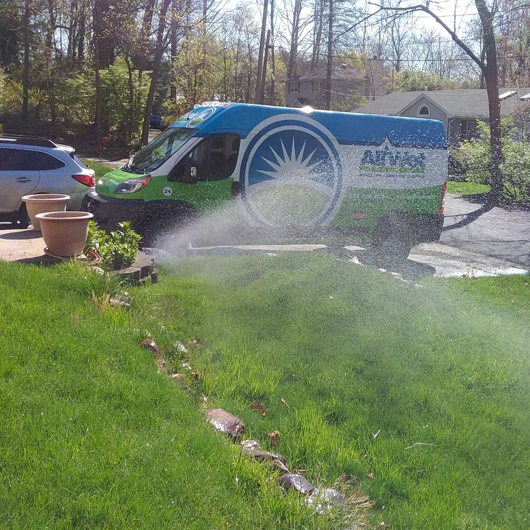 Denville, NJ - Sprinkler lawn system turn on and check all stations and heads