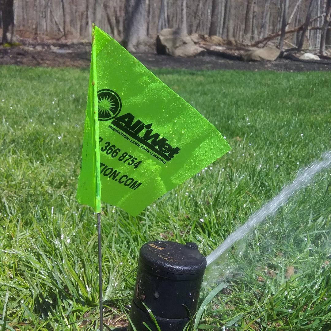 Morris Plains, NJ - Irrigation start up, move and replace broken sprinkler head