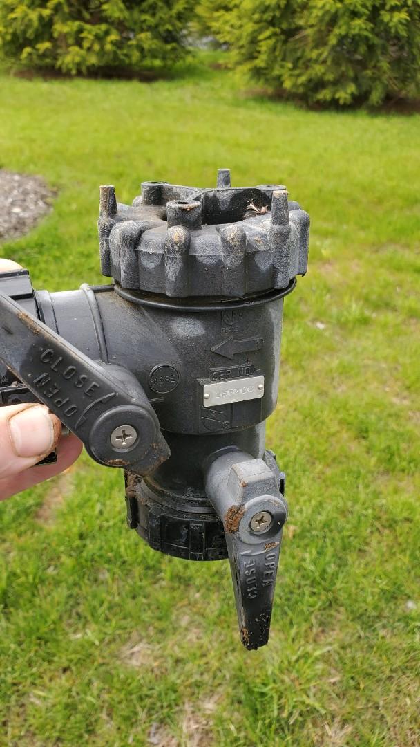 Harding Township, NJ - Replace leaking backflow on sprinklers