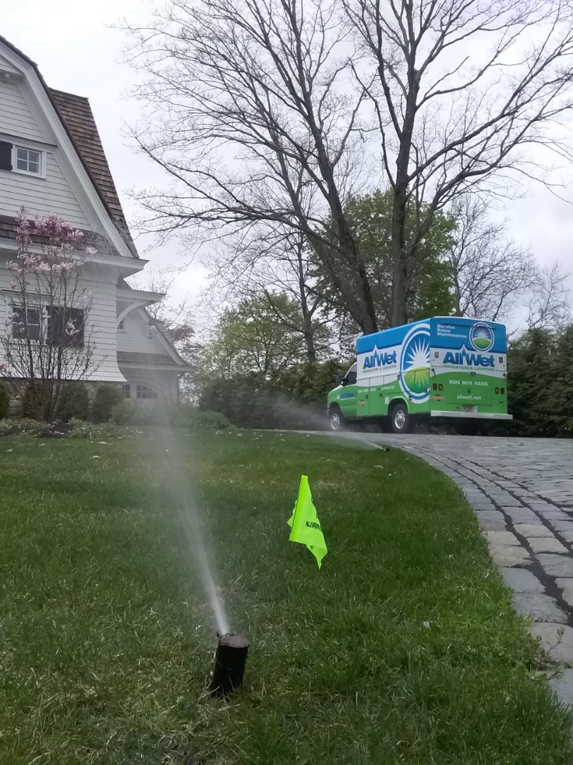 Bernardsville, NJ - Start up irrigation system