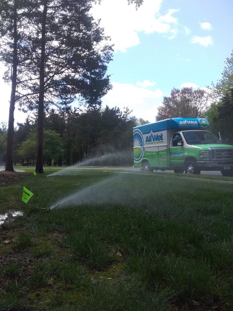 Basking Ridge, NJ - Start up irrigation system
