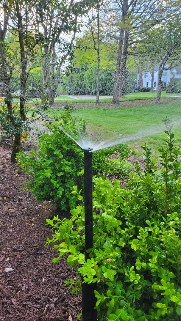 Mendham, NJ - Move and replace heads for better coverage on new plants
