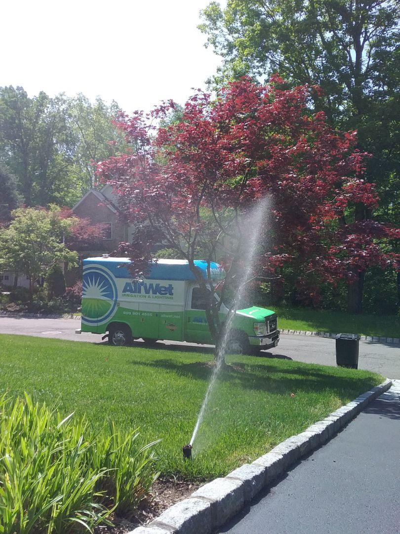 Mendham, NJ - Start up irrigation system