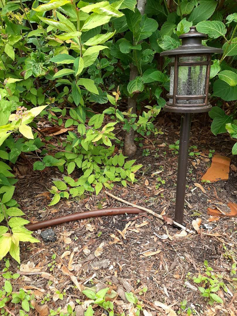 Spring start-up, irrigation sprinkler turn on. In Short Hills NJ
