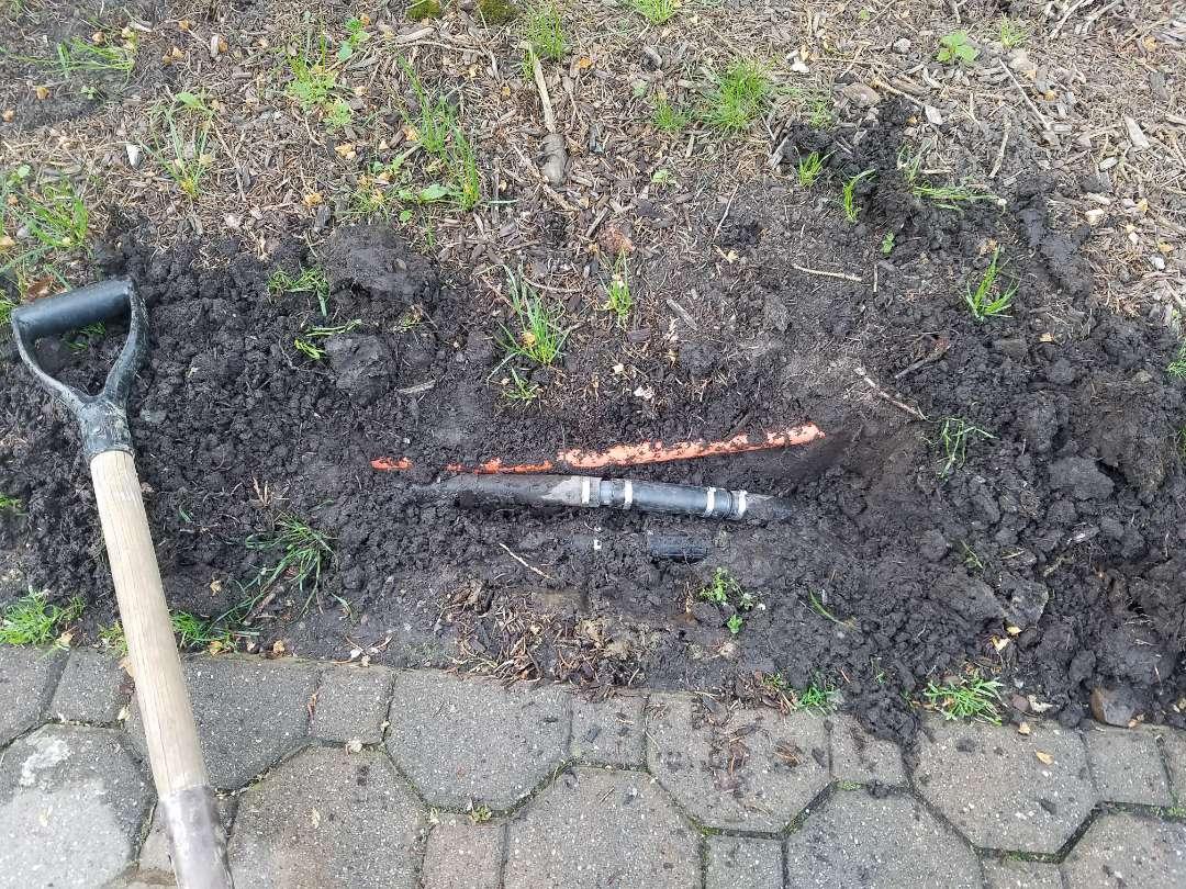 Irrigation Activation start up adjusting fix leak in pipe