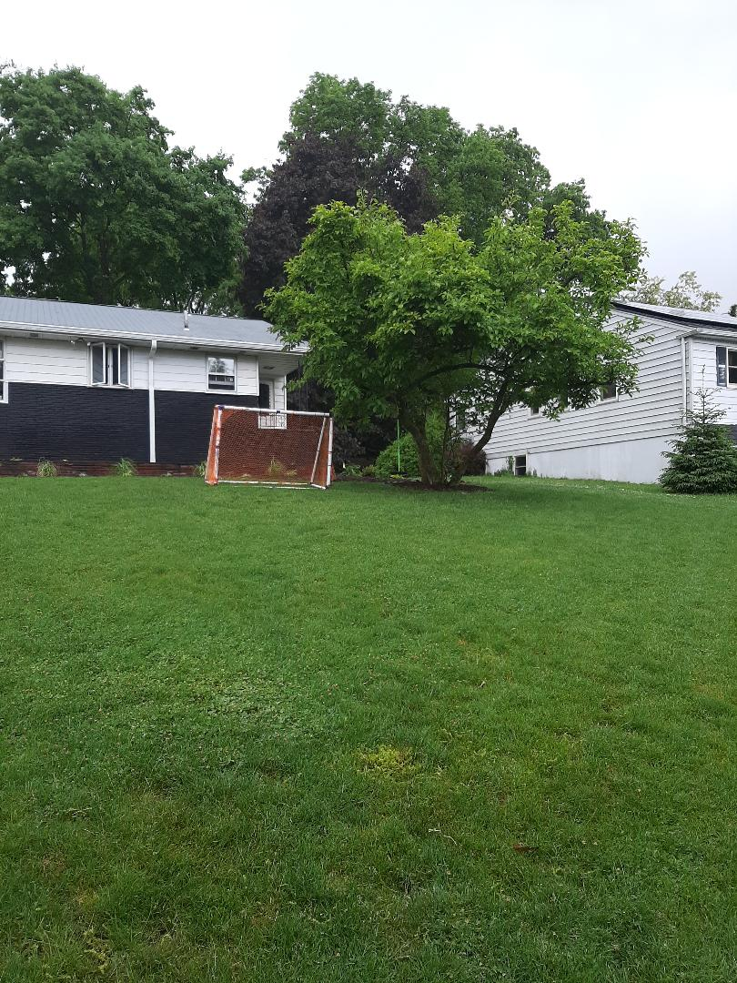 Montclair, NJ - Spring start-up, irrigation sprinkler turn on. In Upper Montclair NJ