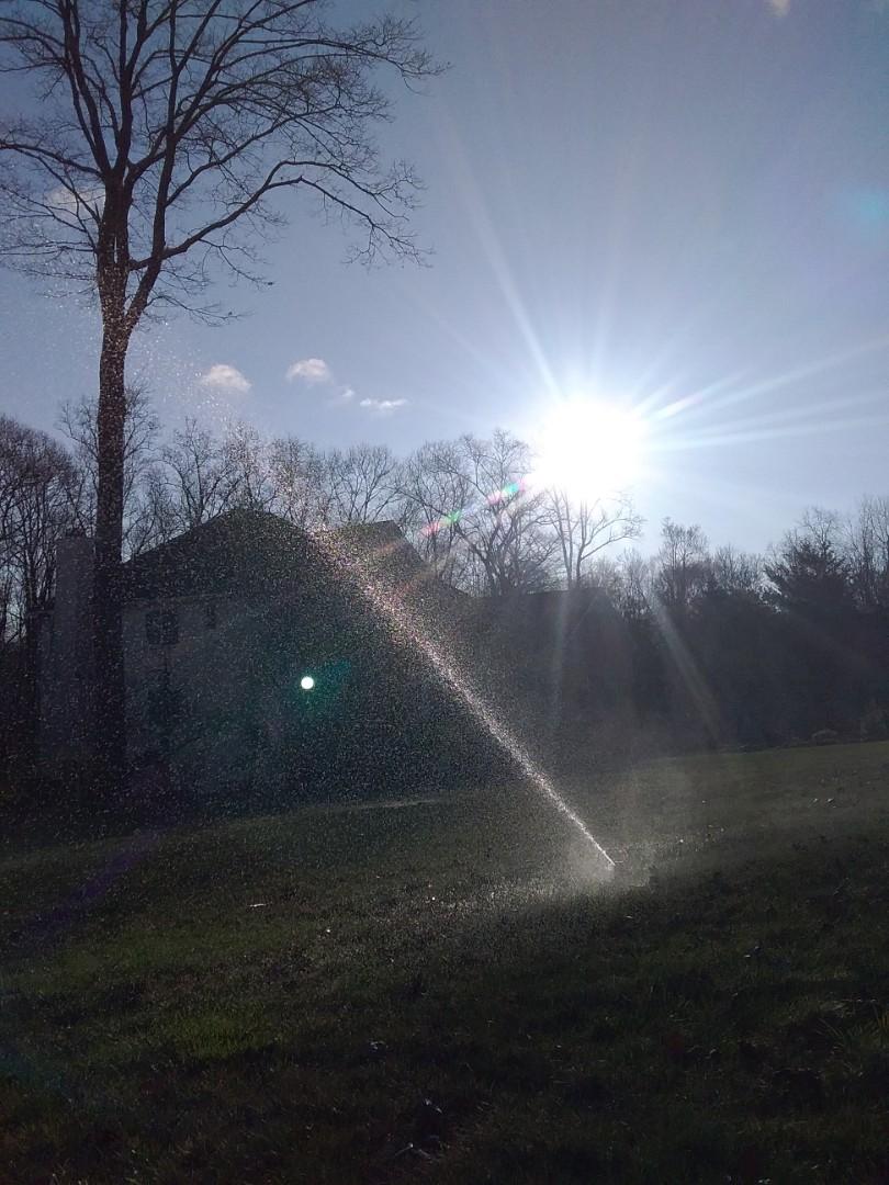 Randolph, NJ - Start up irrigation system