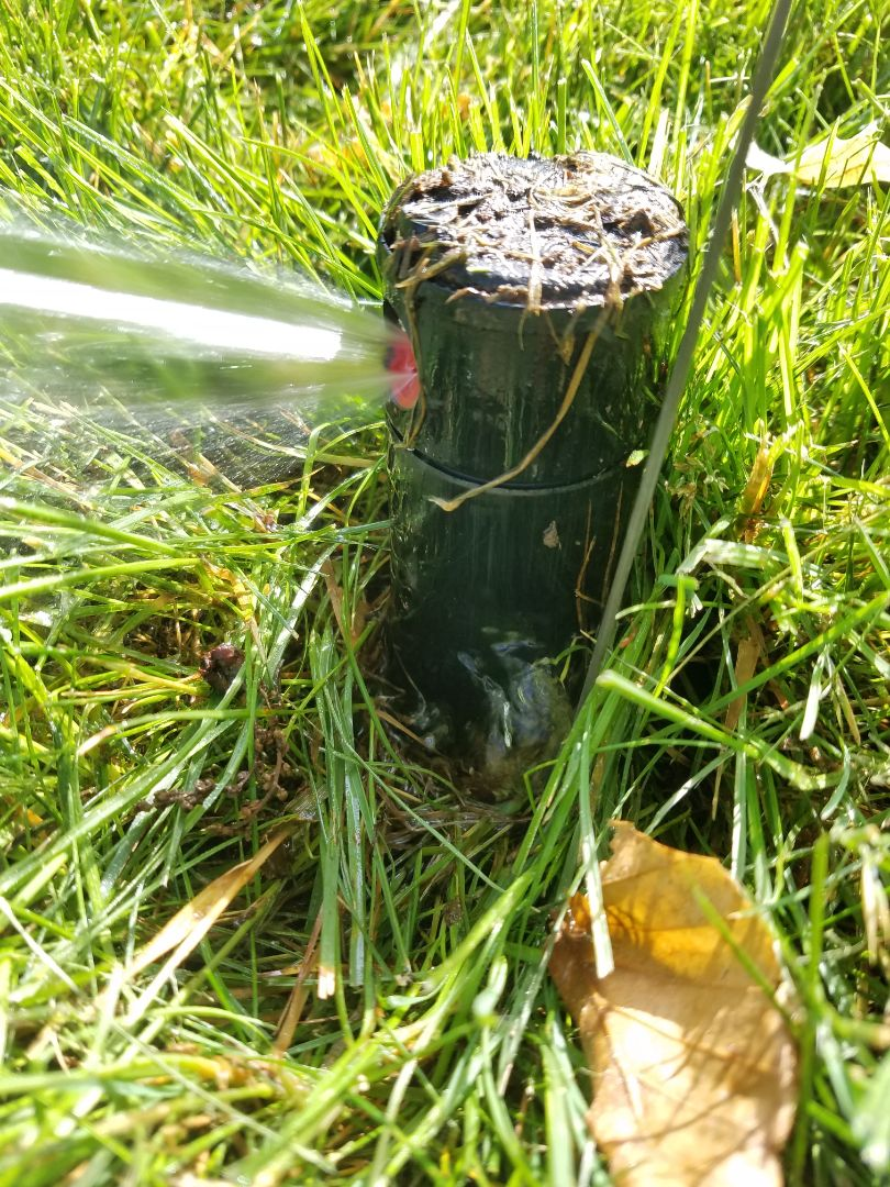 Irrigation Activation start up adjusting replace leaking heads