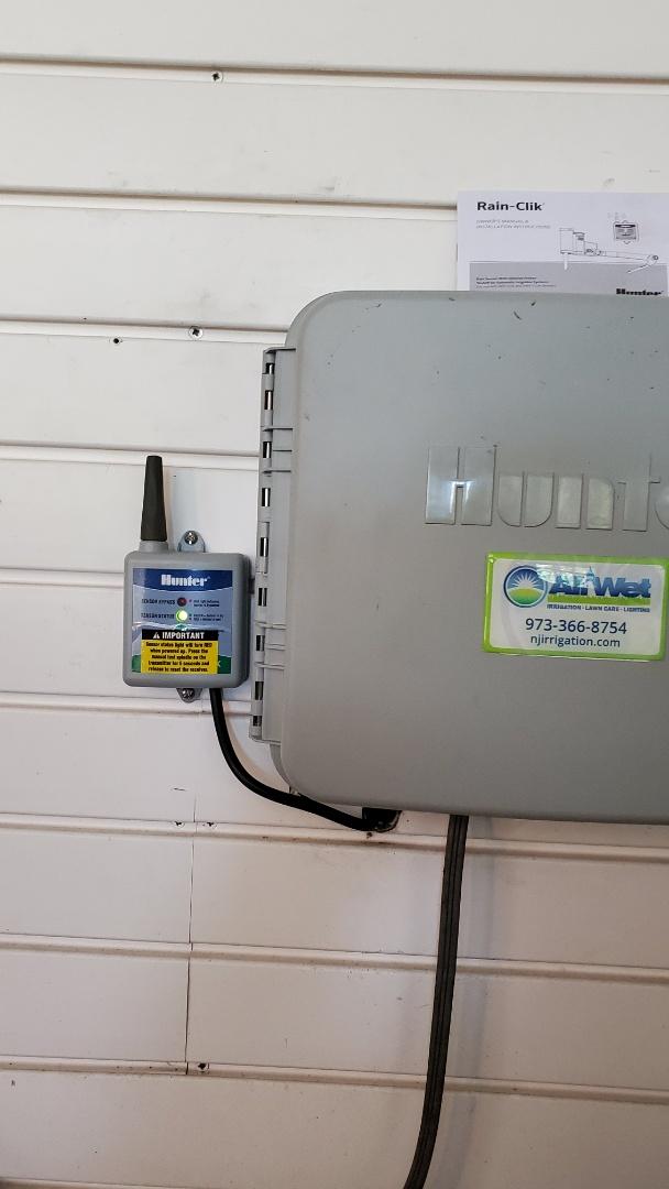 Basking Ridge, NJ - Check through irrigation system and replace rain sensor and make some repairs