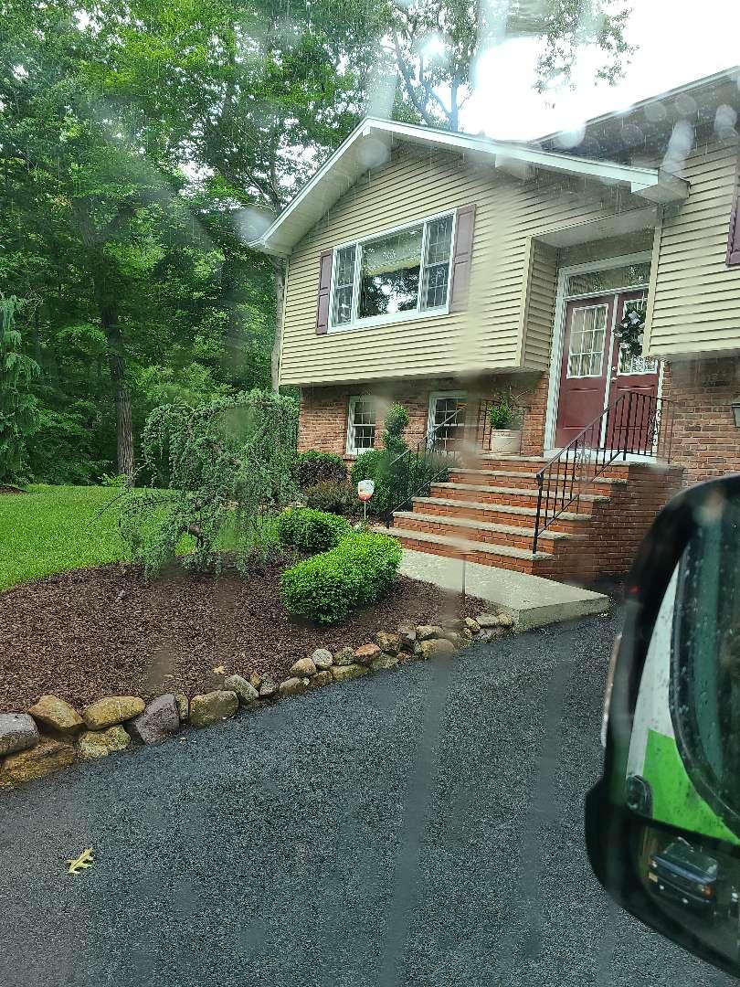 Mid Season check up. Seasonal adjustments. Sprinkler irrigation start up turn on. Repair leaking pipe.
