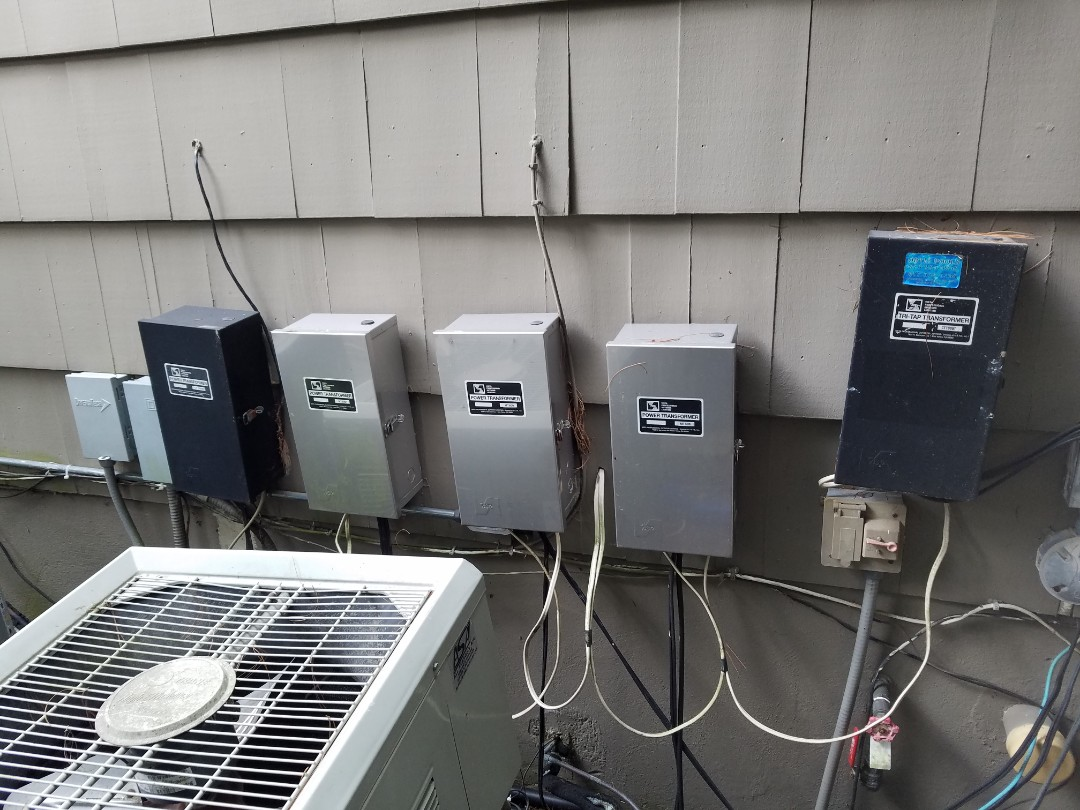 Irrigation repairs and lighting
