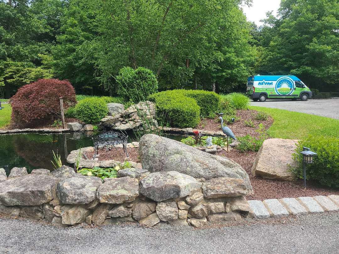 Mendham, NJ - Mid Season check up. Seasonal adjustments. Sprinkler irrigation start up turn on