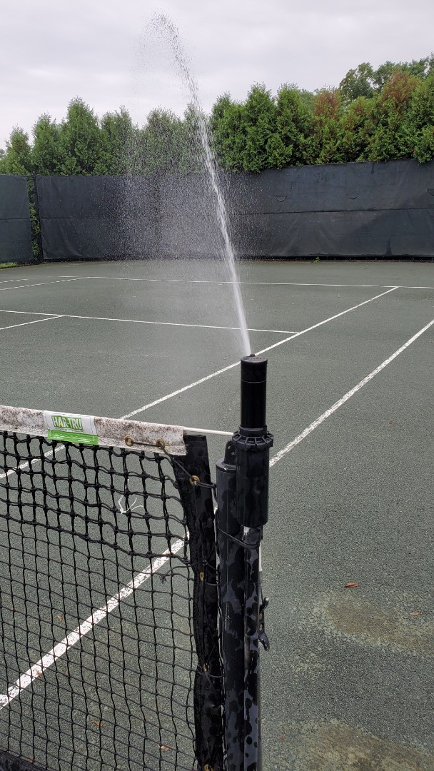 Check system at tennis court