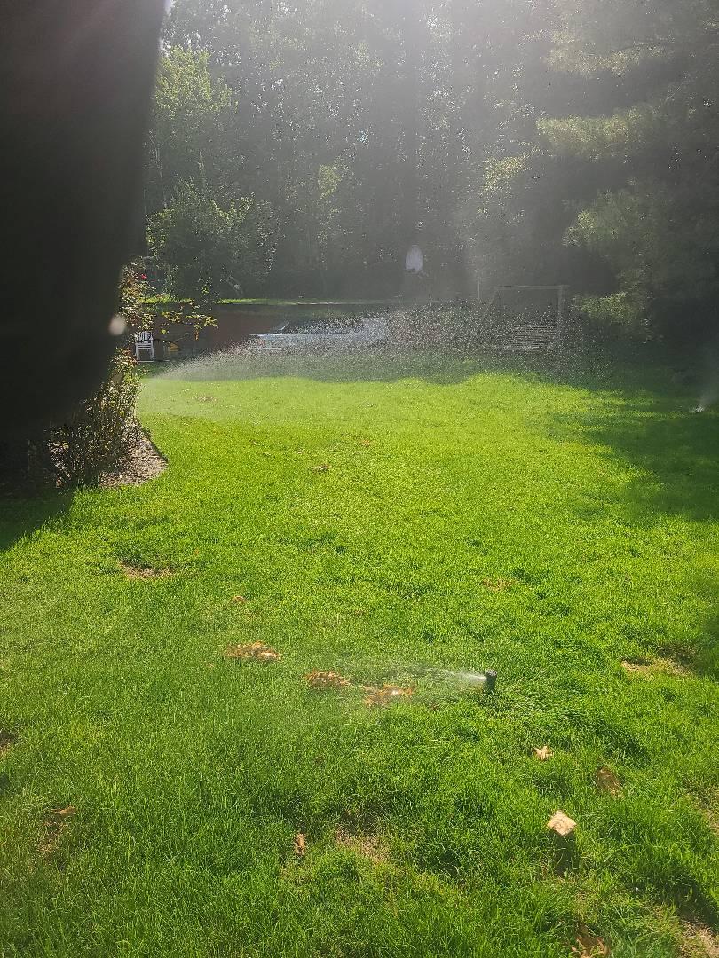 Mid Season check up. Seasonal adjustments. Sprinkler irrigation start up turn on