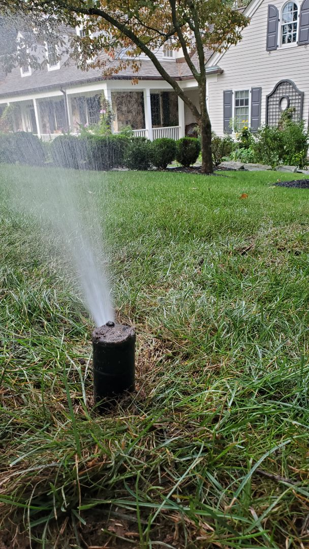 Move and replace sprinkler head for better coverage