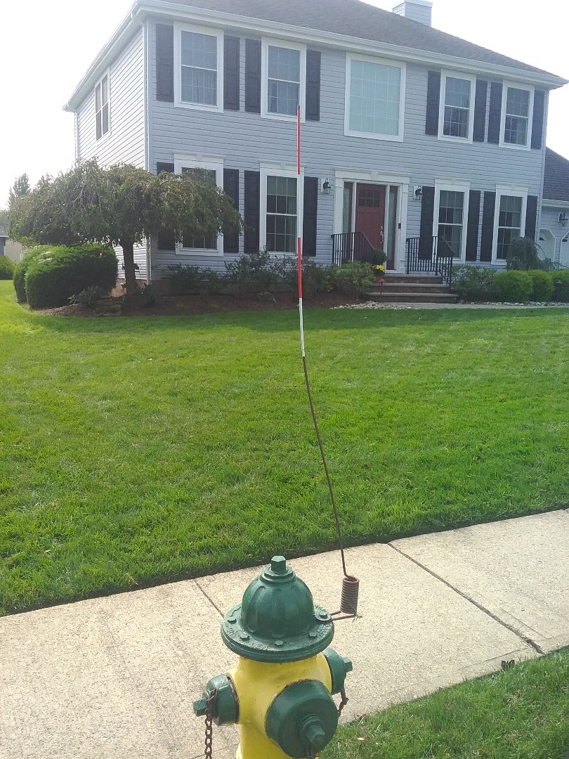 Roxbury Township, NJ - Aeration and overseeding